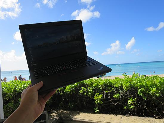 Thinkpad X250は海外で使うのにおすすめのノートパソコン
