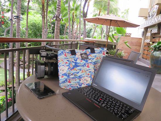 ThinkPad X250を持ち運んでどこでもオフィス
