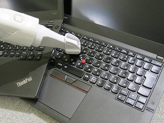 ThinkPadを大掃除 キーボード 液晶 中身もリフレッシュ