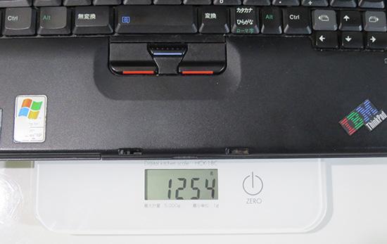 ThinkPad X40 重量は?
