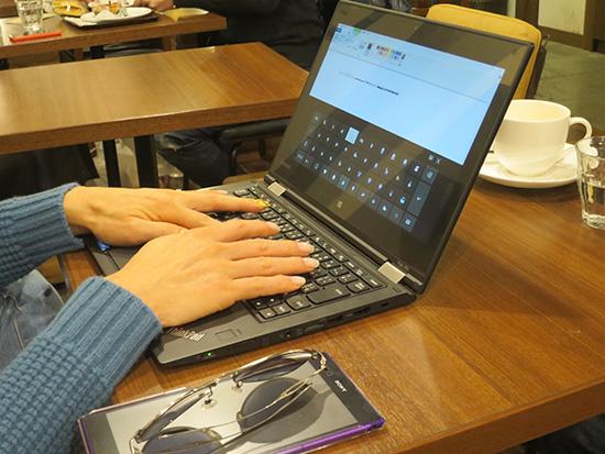 ThinkPad Yoga 260 マルチモードで使わなくても十分満足