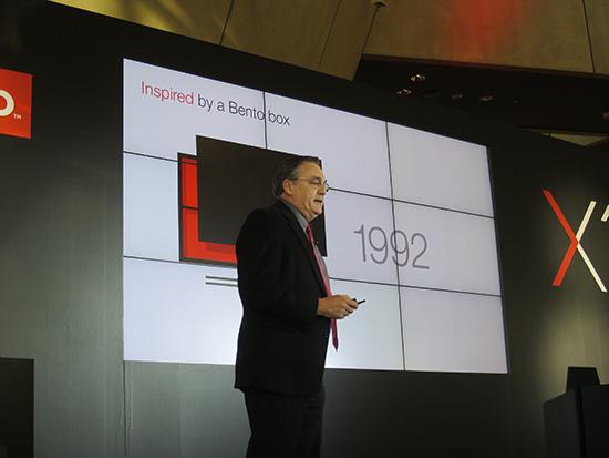 ThinkPad は日本の松花堂弁当にインスパイアされてデザインされた