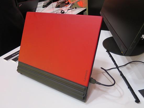 ThinkPad X1 Tablet 赤色キーボード