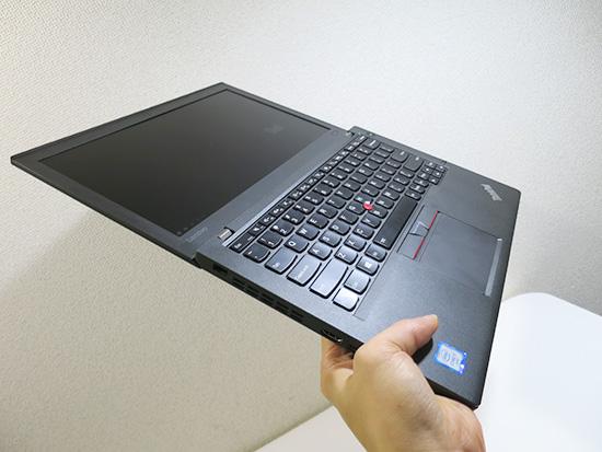 X260 液晶画面が180度開くのはもはや伝統