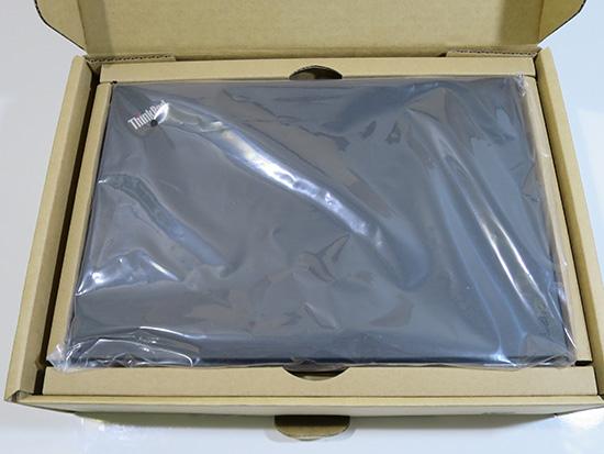 X260 梱包されてる箱が変わった