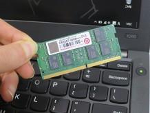 ThinkPad X260 メモリを交換 最大16GBへ