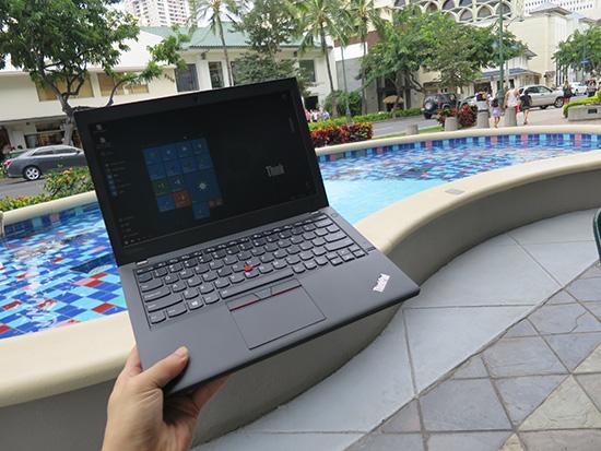 ThinkPad X260を持ち運び 厚くて重いけれど・・・