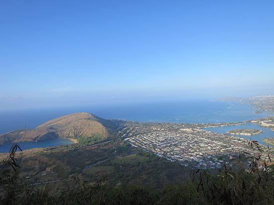 ココヘッド山頂付近からの景色