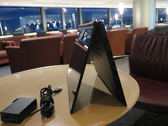 ThinkPad Yoga 260 画面を回転させてテントモード