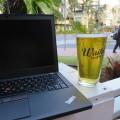ThinkPad X260 とワイキキビール