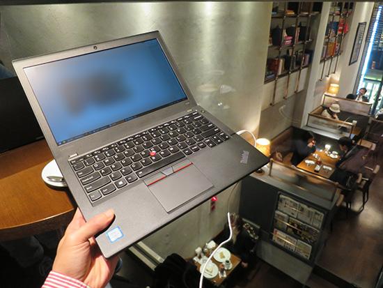 ThinkPad X260で生中継のモニタリング