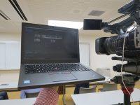 動画編集にThinkPad X260 今日もセミナー撮影現場で活躍
