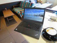 外苑前の穴場カフェでThinkpad X260