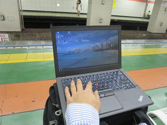 起動時間が早いSSD搭載のThinkPad X260