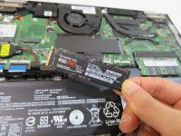 ThinkPad Yoga 260 SSDの換装・交換 NVMeにした