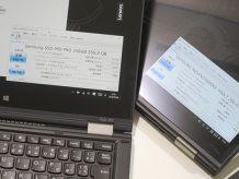 ThinkPad Yoga 260 と X1 Yoga NVME SSD の温度を計測 発熱は?