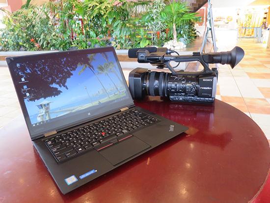 Thinkpad X1 Yoga NVMe SSD を使って動画編集