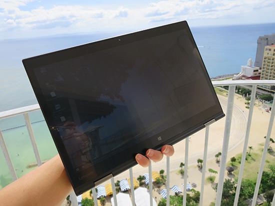 ThinkPad X1 yogaタブレットモードはダイナミック!