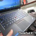 ThinkPad X1 Yoga キーボードバックライトが新幹線グリーン車内で自動点灯
