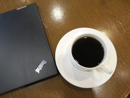 お茶の水 神保町お勧めカフェ ThinkPad  X1 yogaと美味しいコーヒー