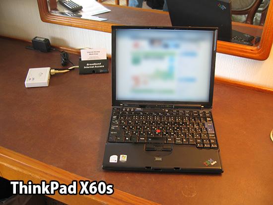 ThinkPad X60sを当時は使っていた