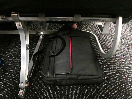 ThinkPad プロフェッショナル・スリムトップロードケース JALの機内でも座席下に置ける