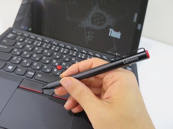 ThinkPad X1 Tabletのデジタイザ 持ちやすい