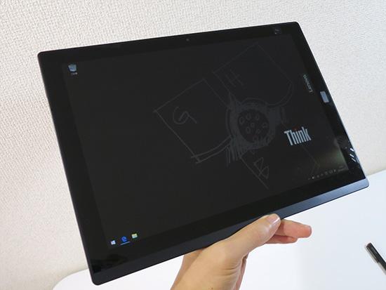 X1 tablet 液晶面 ゴリラガラスできれい 汚れにくい