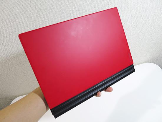 X1 tablet 本体とキーボードの重量は・・・