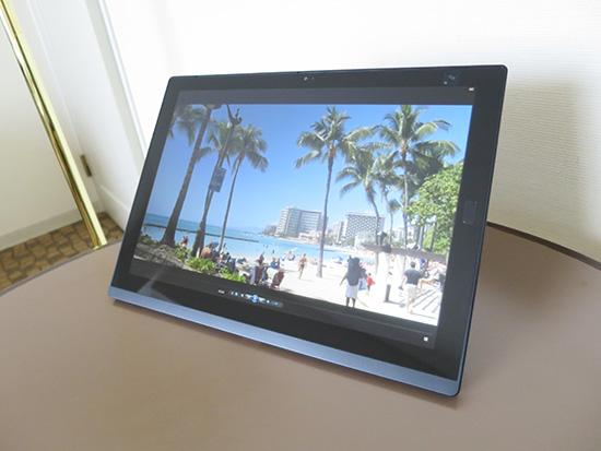 ThinkPad X1 Tablet 動画再生後のバッテリー残量