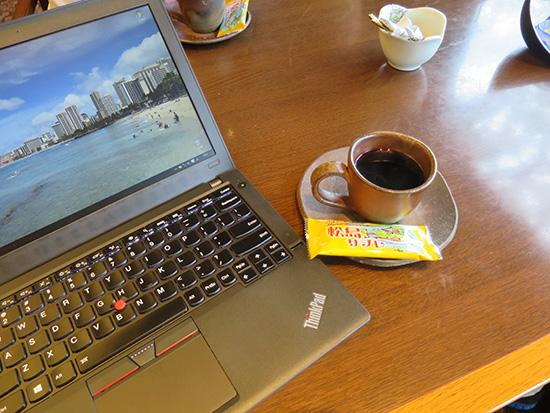 コーヒーとThinkPad X260