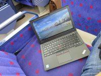 電車内でThinkPad X260ワークフロー