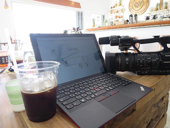 ThinkPad X1 Tablet 普通のノートPCと変わりなく使える