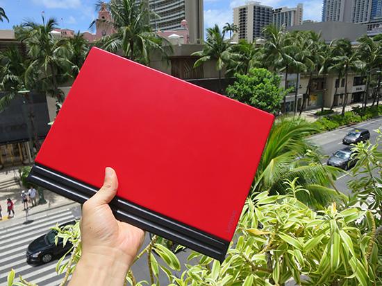X1 tablet キーボードを赤にして正解だった
