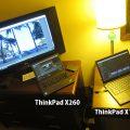 ThinkPad X1 YogaとX260 旅先で動画編集