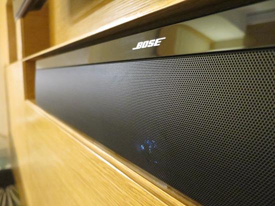 インターコンチネンタル大阪のテレビはスピーカーがBOSE