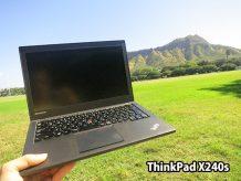 ThinkPad X240sとハワイダイアモンドヘッド