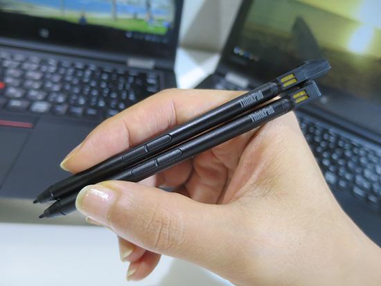 ThinkPad Pen Pro-2と3 重量はほとんど変わらないけど