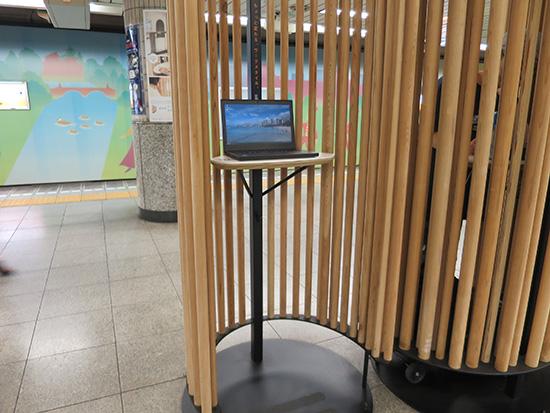 溜池山王駅 銀座線 エキナカワークスペース でThinkPad X260を使う