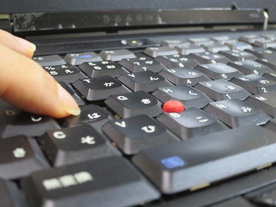 ThinkPad R40e キーストローク