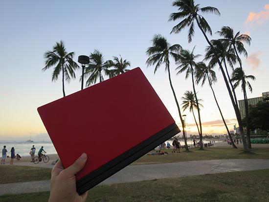 X1 Tablet かっこいい!と言われることが多い