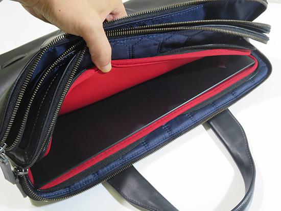 TUMI トゥミ 本革パソコンバッグにThinkPad X1 Yogaがぴったり