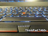 ThinkPad T460s バックライトキーボードがかっこいいので常に点灯して使用中