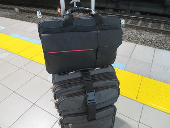 荷物が多いときは逆にT460s