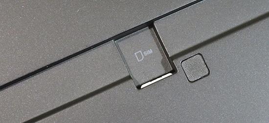 x1 tabletSIMカードを入れるとコンマ数ミリカードが出ている