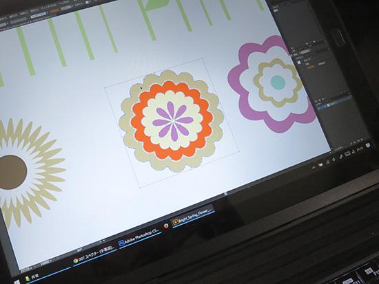 X1 Tablet Illustratorとphotoshopの連携も問題なし