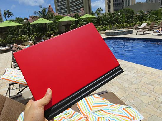 ハワイでもX1 tabletが問題なく使えた