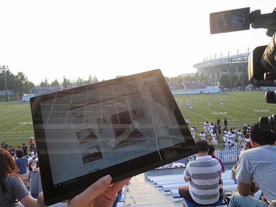 ThinkPad X1 Tablet 液晶 直射日光でも見やすい