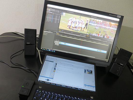 T460s 外部グラフィックボード を使って Adobe プレミア CS6で編集してみる