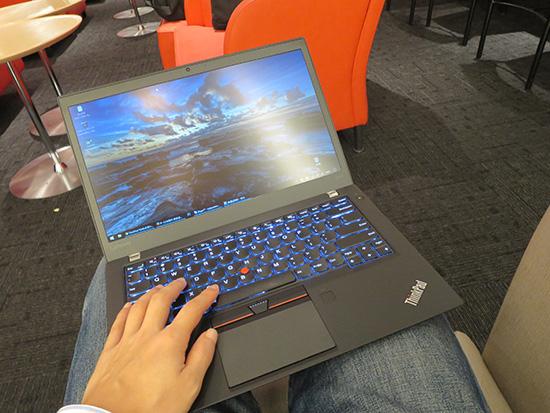 ThinkPad T460sで一仕事